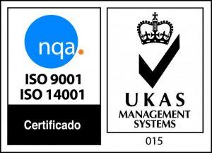 SELLO CALIDAD ISO 9001 Y GESTIÓN MEDIOAMBIENTAL ISO 14001
