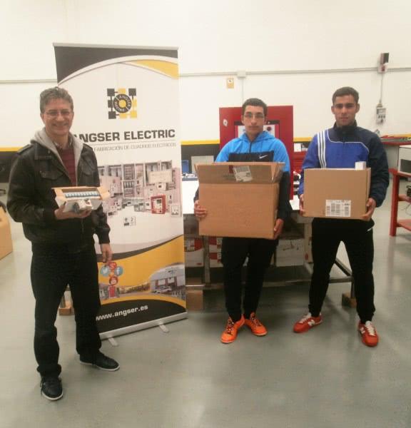 Angser Electric colabora con I.E.S. Rio Duero