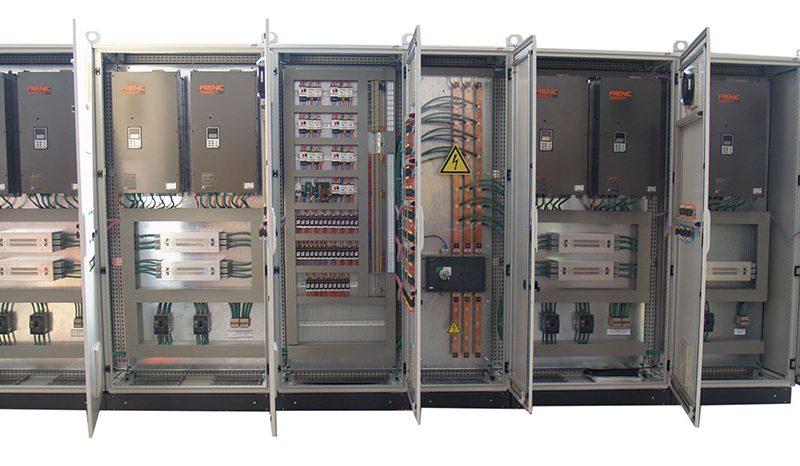 Cuadros control climatización CPD Telefónica